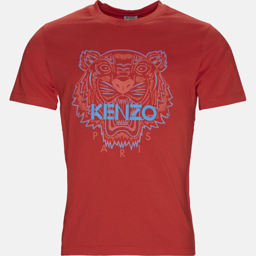 F955TSO354YE - T-shirt - T-shirts - Slim - RØD - 1