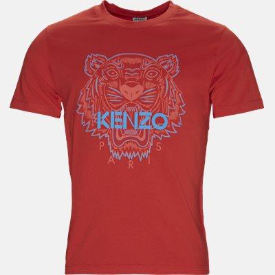T-shirt Slim | T-shirt | Rød