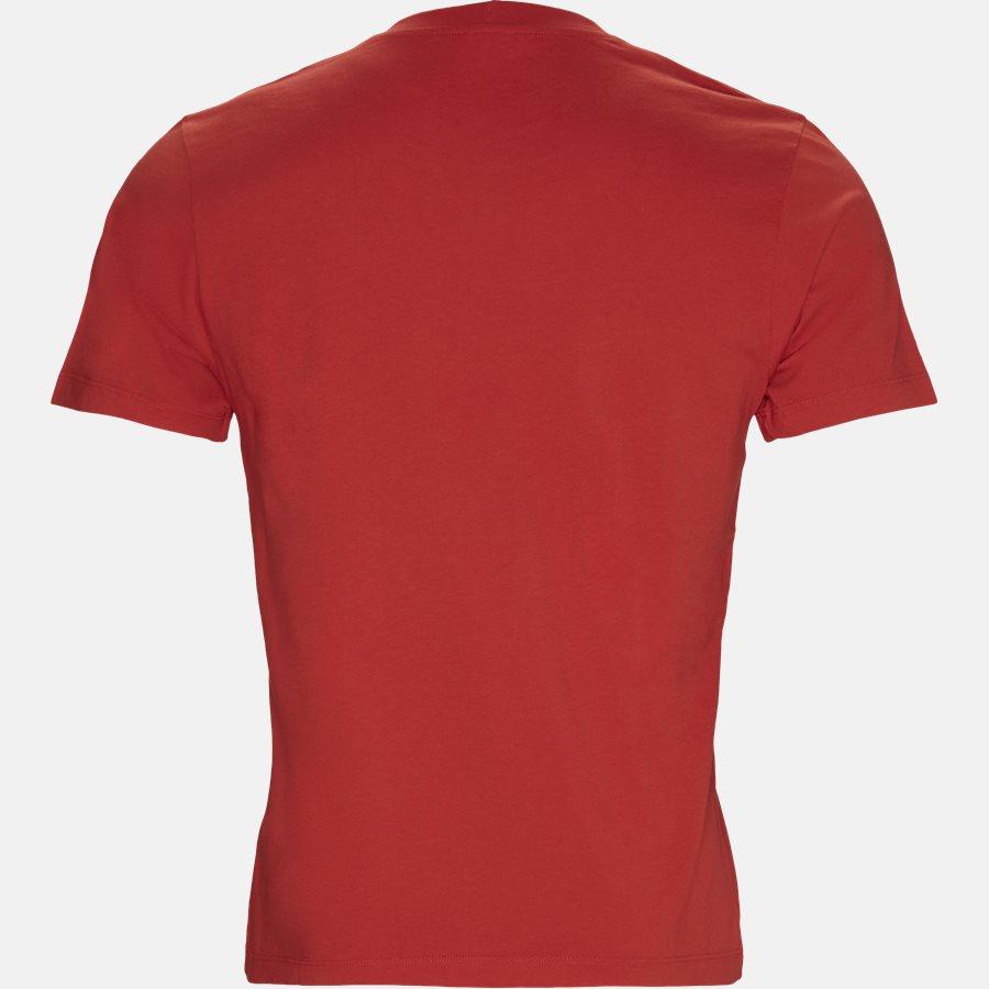 F955TSO354YE - T-shirt - T-shirts - Slim - RØD - 2
