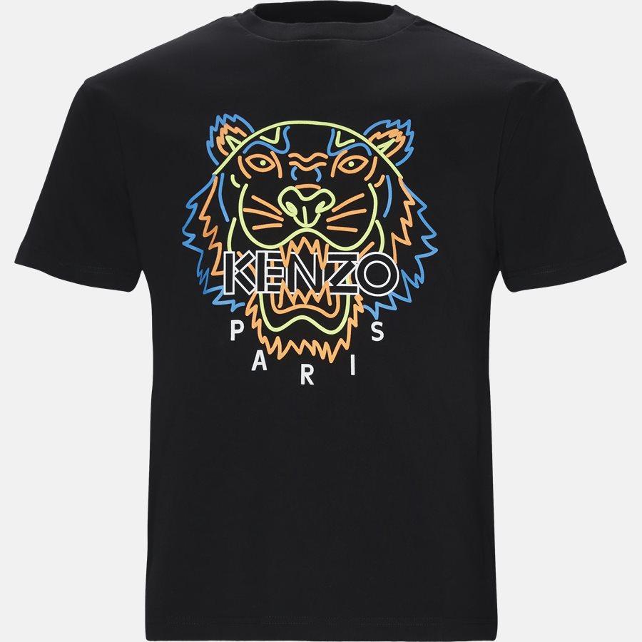 F955TSO394YF - T-shirts - Regular fit - SORT - 1