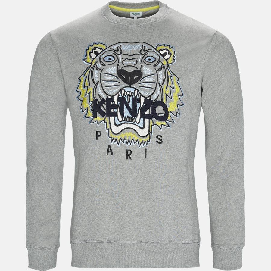 955SW0014XA - sweat - Sweatshirts - Regular slim fit - GRÅ - 1