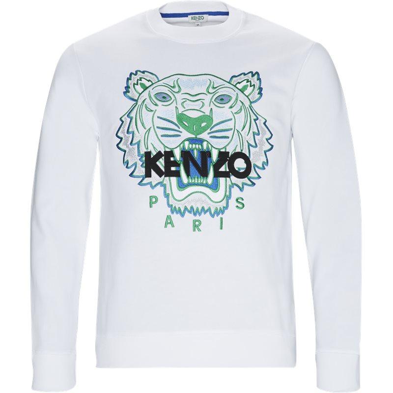 Kenzo sweat hvid fra kenzo på axel.dk
