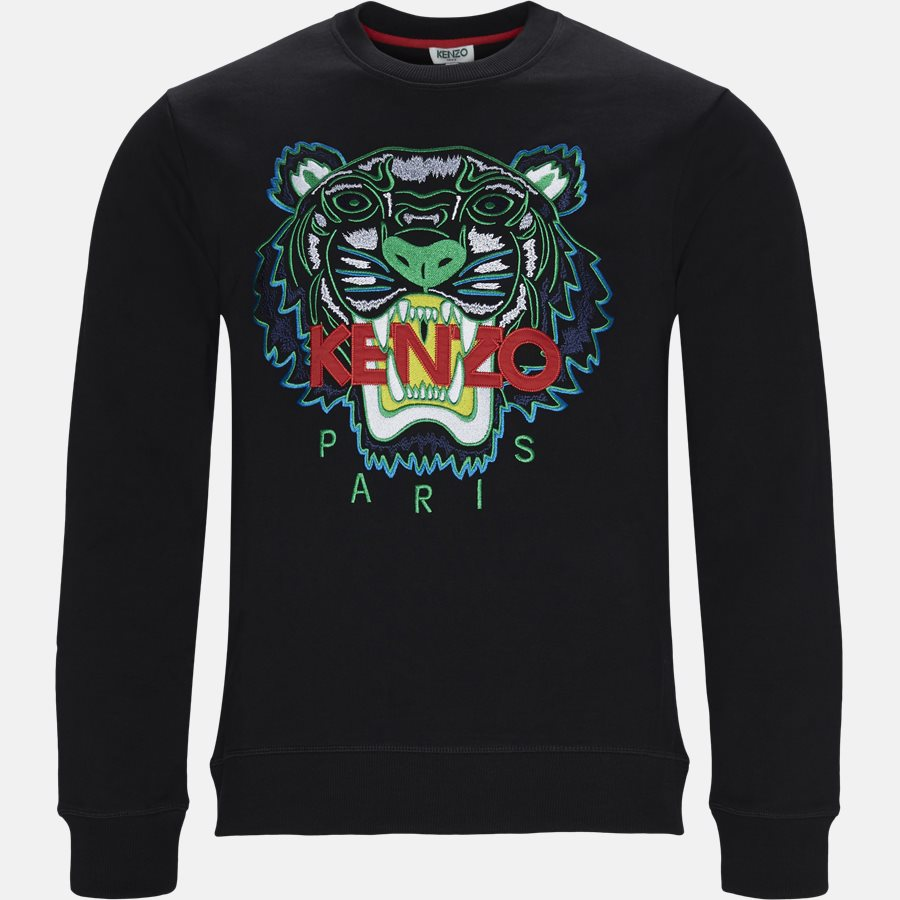 955SW0014XA - sweat - Sweatshirts - Regular slim fit - SORT - 1