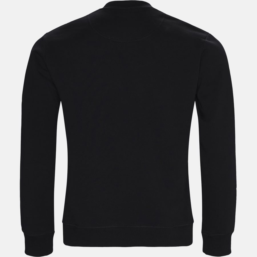 955SW0014XA - sweat - Sweatshirts - Regular slim fit - SORT - 2