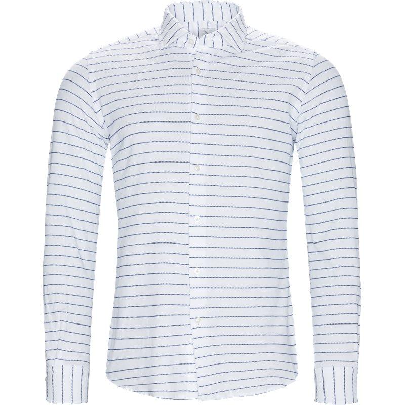 xacus – Xacus slim 41467 j748ml skjorter hvid på axel.dk