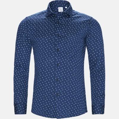 Slim   Skjorter   Blå