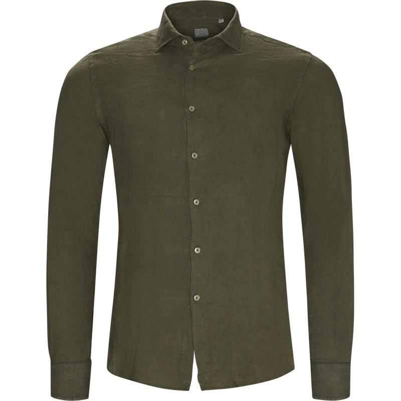 Xacus tailor 41125 748ml skjorter army fra xacus på axel.dk
