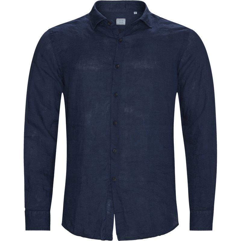 xacus Xacus tailor 41125 748ml skjorter navy på axel.dk