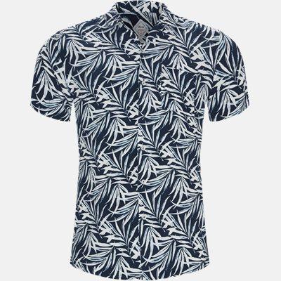 Regular fit | Kortærmede skjorter | Blå