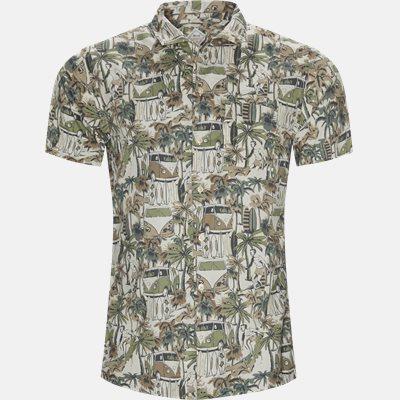 Regular fit   Short-sleeved shirts   Sand