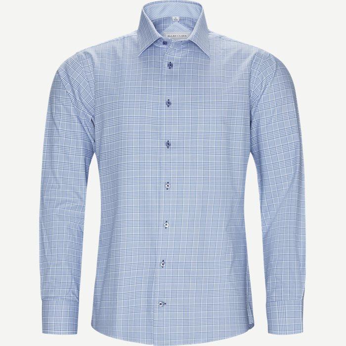 Derby Skjorte - Skjorter - Modern fit - Blå