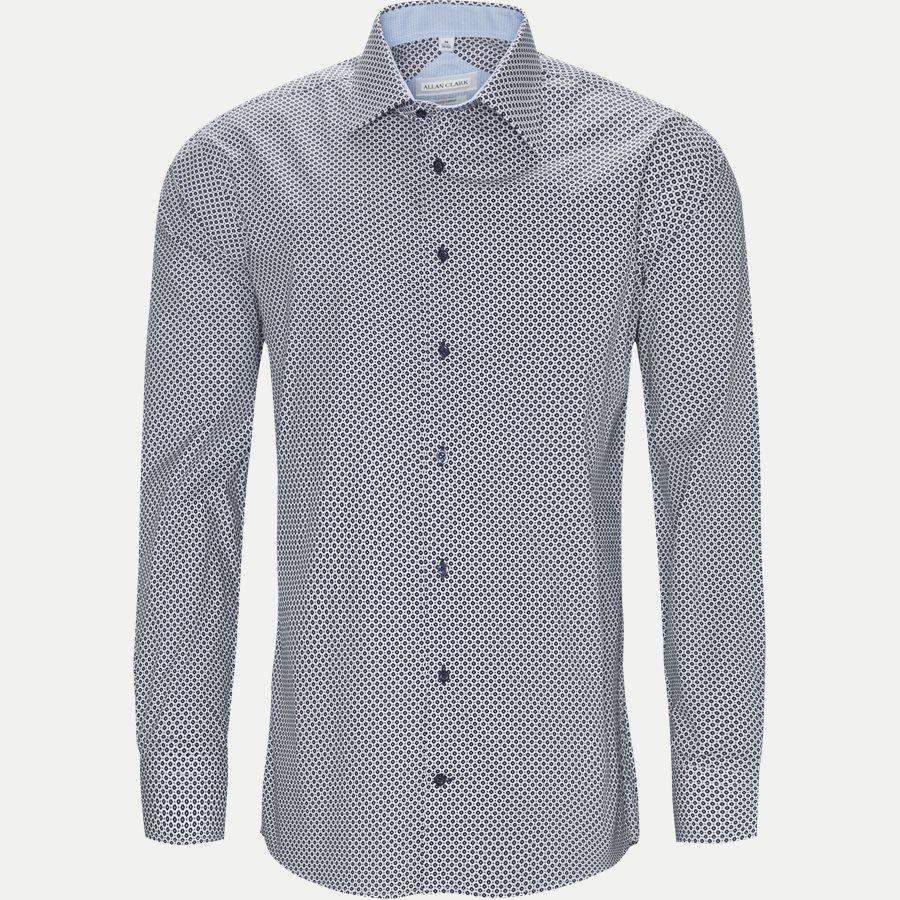 BRISTOL. - Bristol Skjorte - Skjorter - Modern fit - WHITE/NAVY - 1