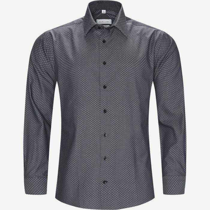 Hemden - Modern fit - Grau