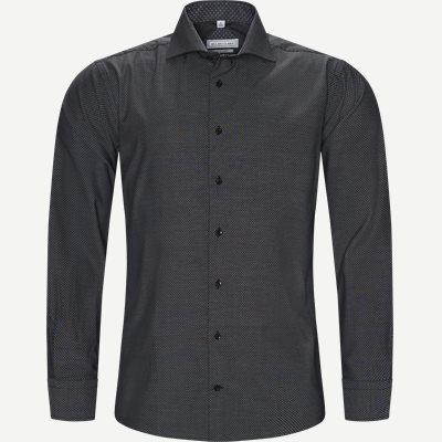 Cardiff Skjorte Modern fit | Cardiff Skjorte | Sort