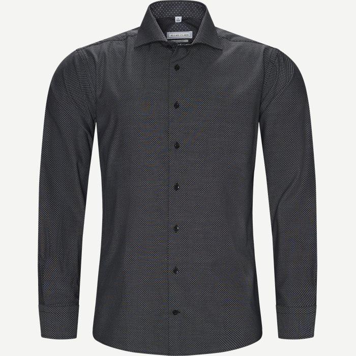 Skjortor - Modern fit - Svart