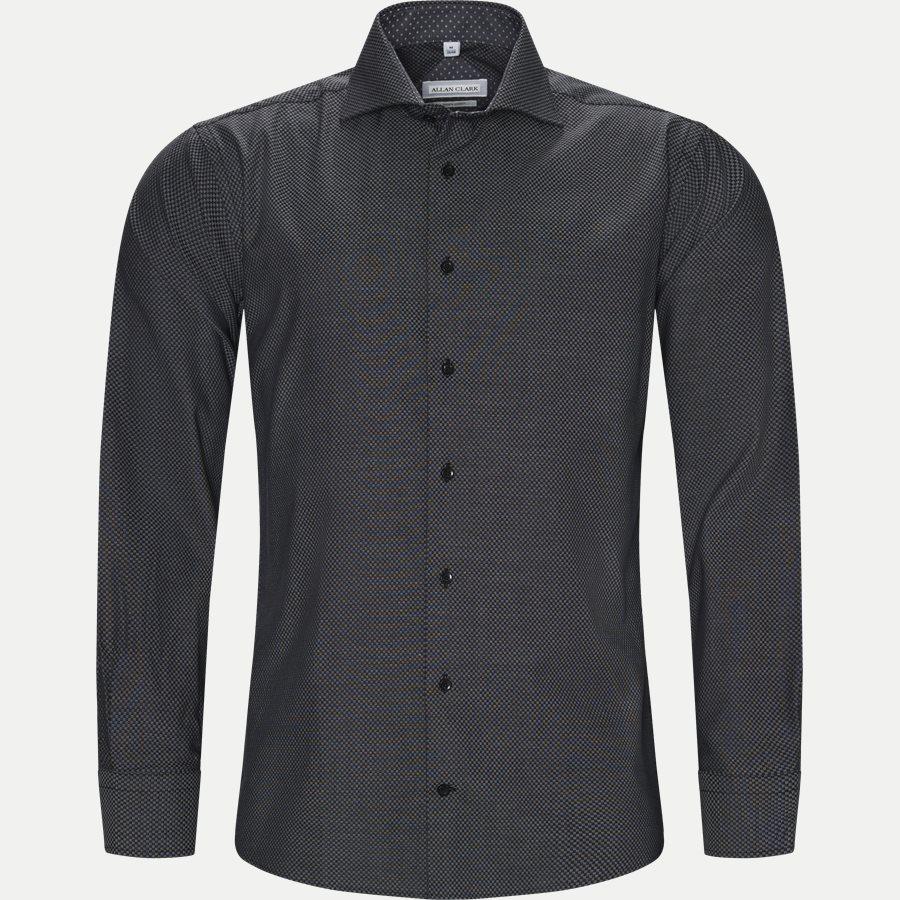CARDIFF - Cardiff Skjorte - Skjorter - Modern fit - BLACK - 1