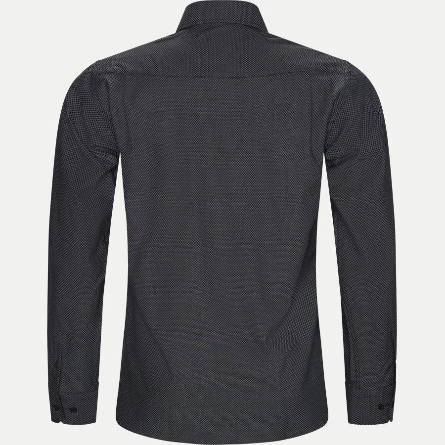 CARDIFF - Cardiff Skjorte - Skjorter - Modern fit - BLACK - 2