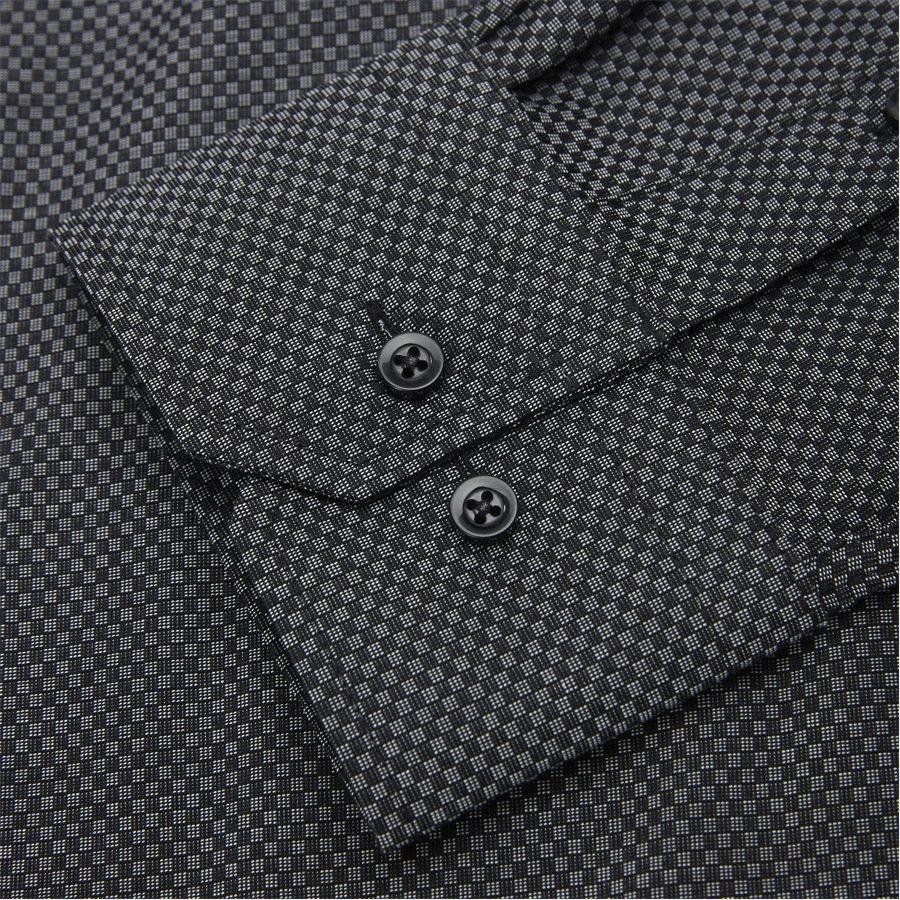 CARDIFF - Cardiff Skjorte - Skjorter - Modern fit - BLACK - 6