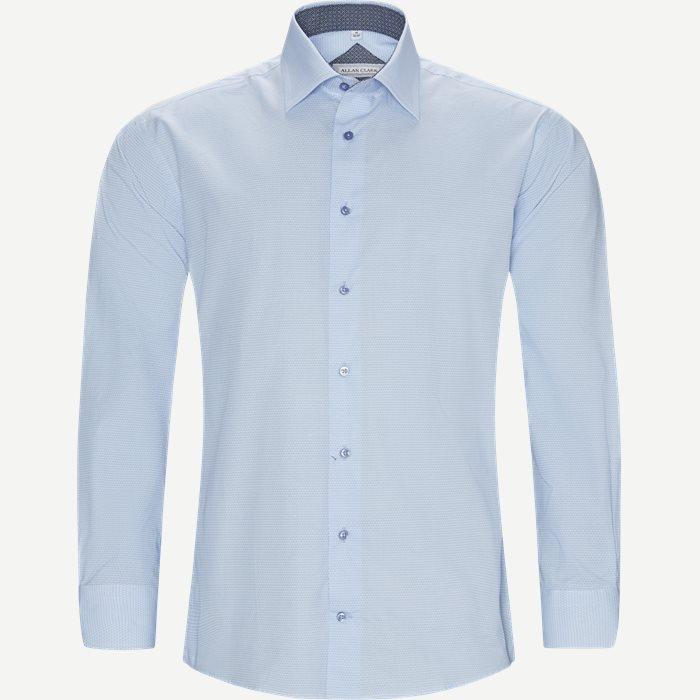 Salah Skjorte - Skjorter - Modern fit - Blå