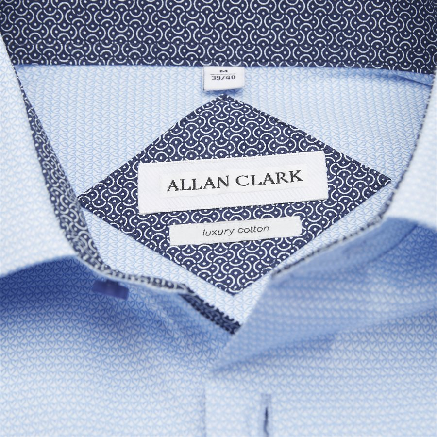 SALAH - Salah Skjorte - Skjorter - Modern fit - L.BLUE - 3