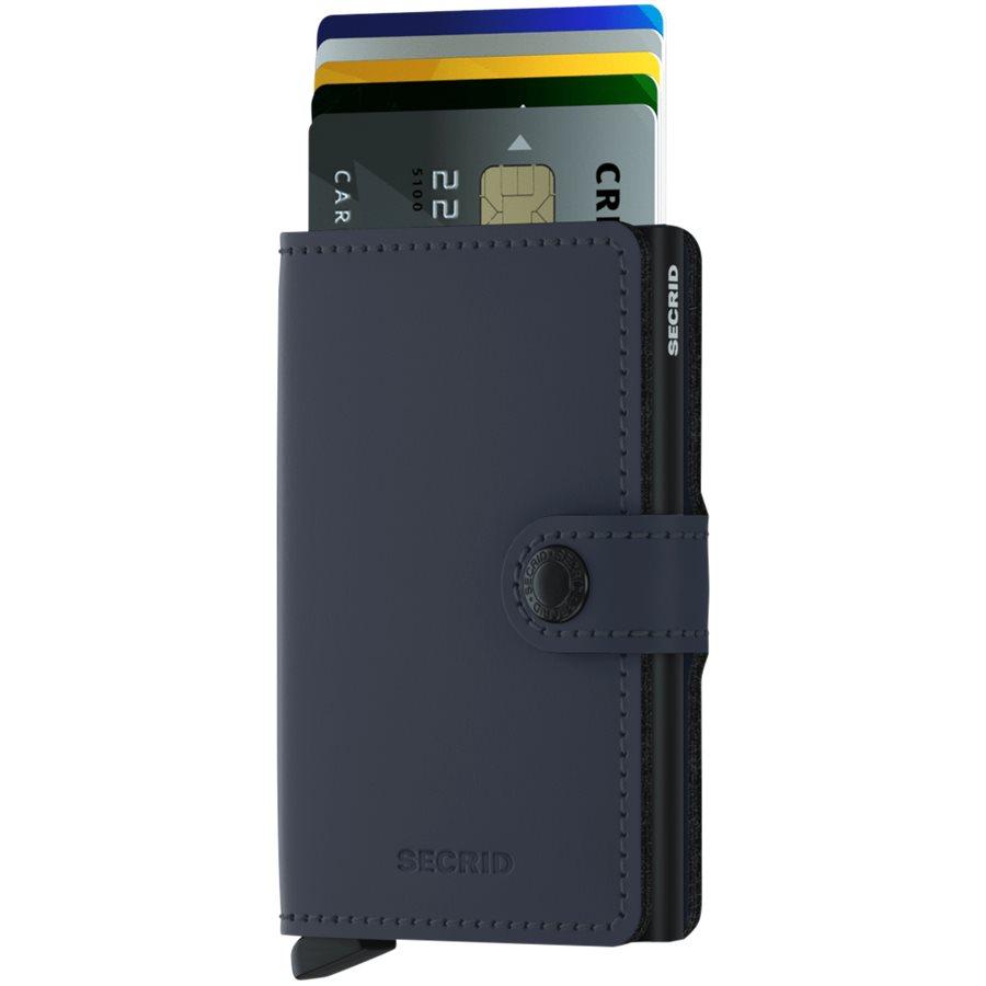 MM. - Mini Wallet - Accessories - BLÅ/SORT - 2