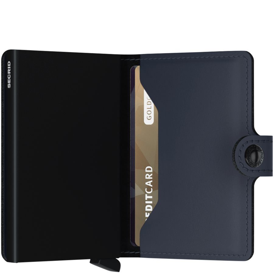 MM. - Mini Wallet - Accessories - BLÅ/SORT - 4