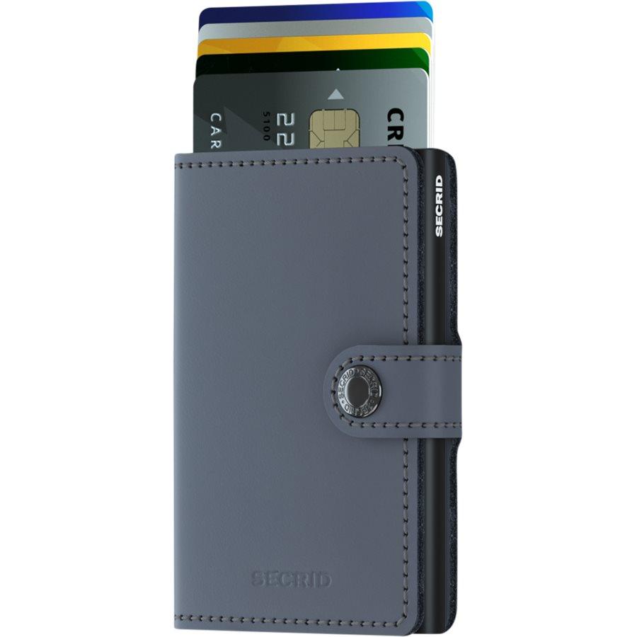 MM. - Mini Wallet - Accessories - GRÅ/SORT - 2