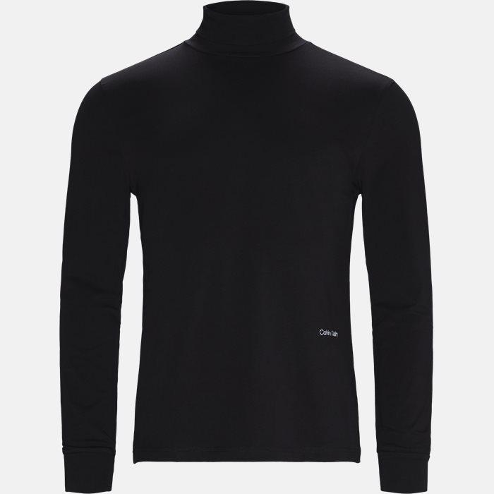 T-shirt - Langærmede T-shirts - Regular fit - Sort