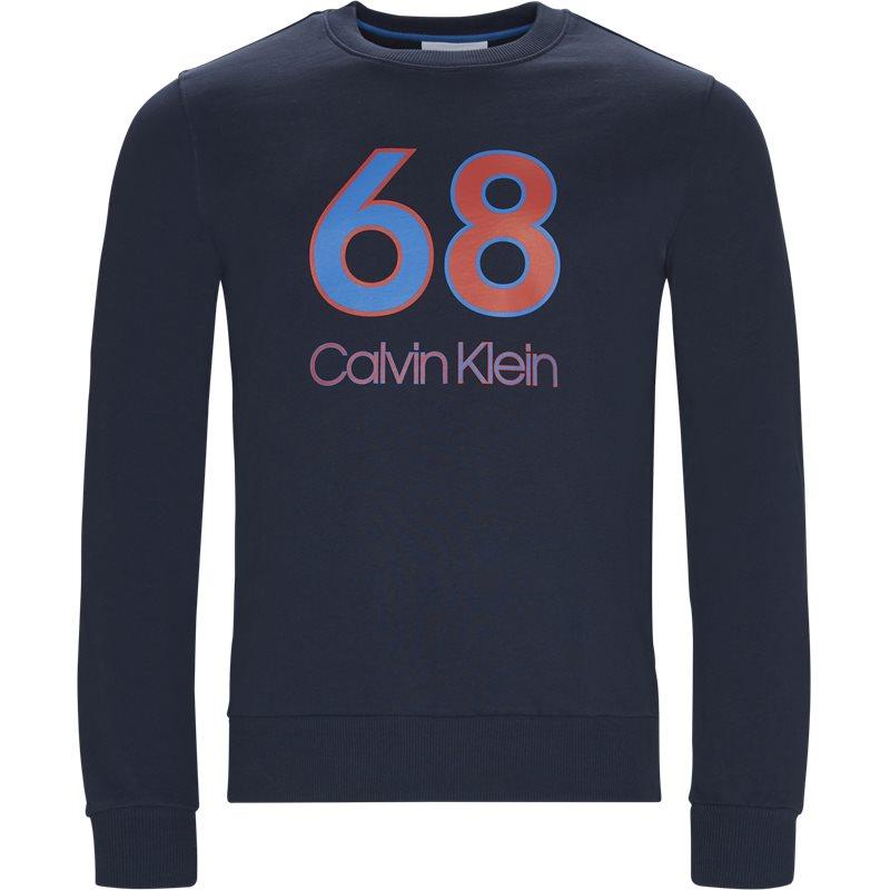Image of   Calvin Klein Regular fit K10K102981 Sweatshirts Navy/rød