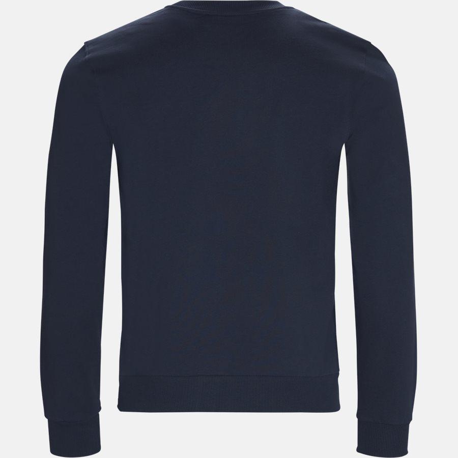 K10K102981 - Sweatshirts - Regular fit - NAVY/RØD - 2