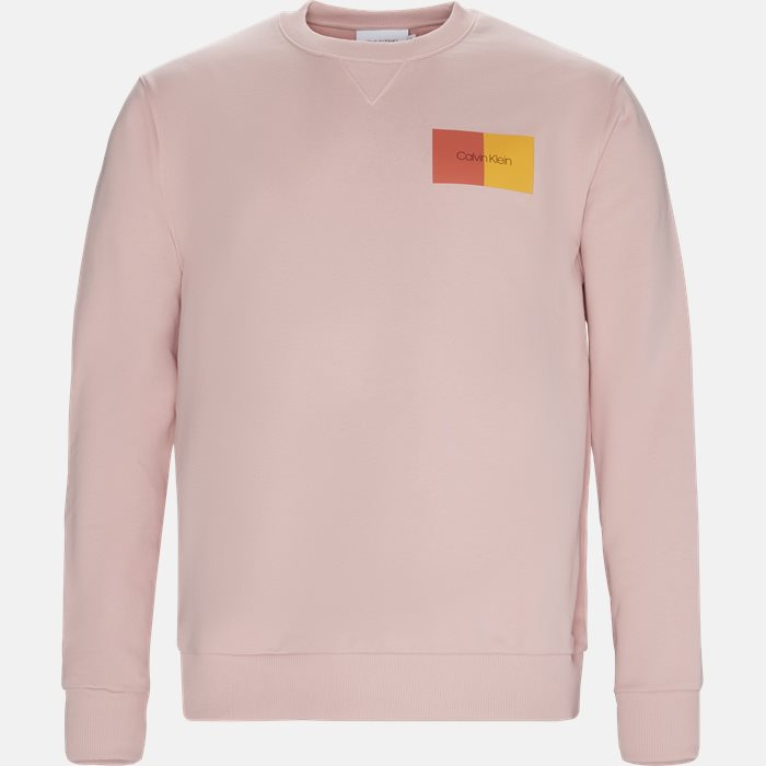 Sweatshirts - Regular fit - Pink