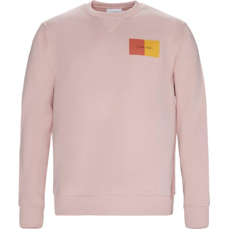 calvin klein Calvin klein regular fit k10k102974 sweatshirts pink fra axel.dk