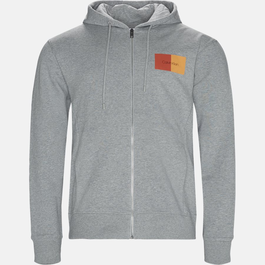 K10K102978 - Sweatshirts - Regular fit - GRÅ - 1