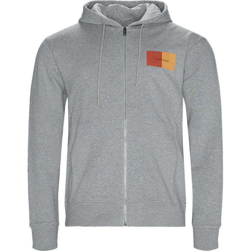 calvin klein Calvin klein regular fit k10k102978 sweatshirts grå fra axel.dk