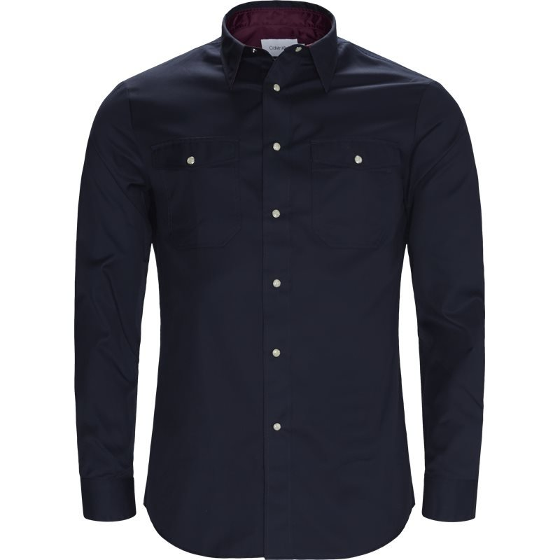 Image of   Calvin Klein Fitted body K10K103047 Skjorter Navy