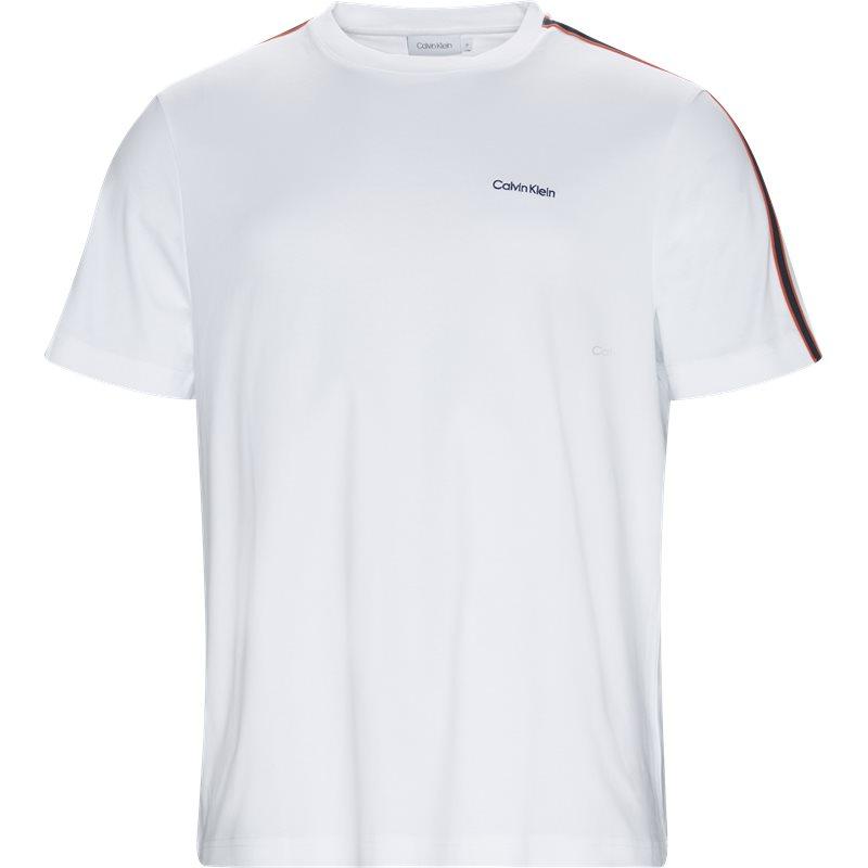 calvin klein Calvin klein regular fit k10k103008 t-shirts hvid på axel.dk