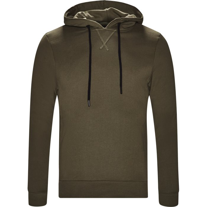 Alton Hoodie - Sweatshirts - Regular - Army