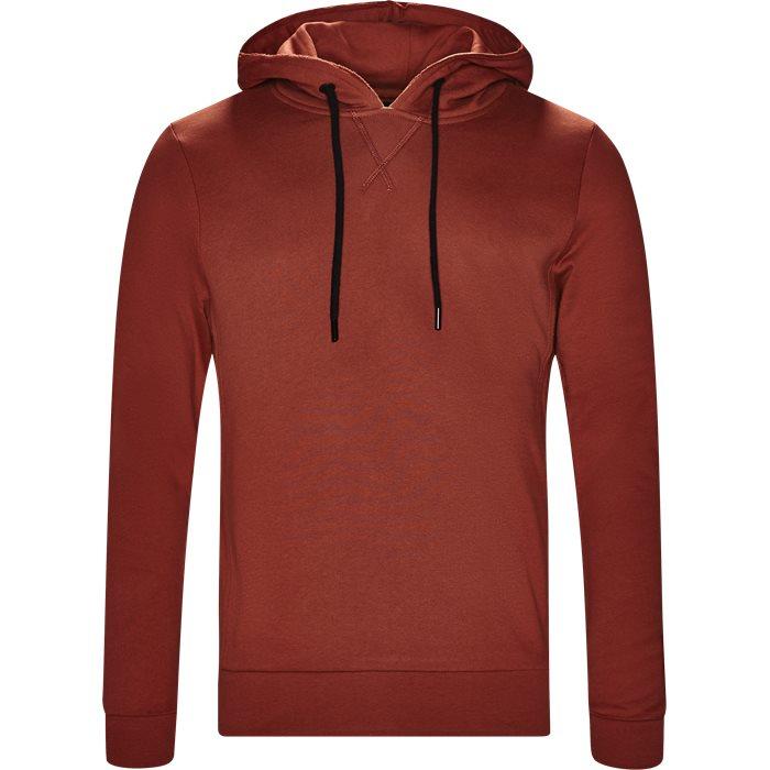 Alton Hoodie - Sweatshirts - Regular - Rød