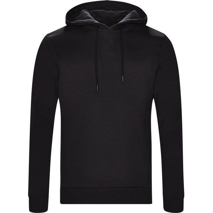 Alton Hoodie - Sweatshirts - Regular - Sort