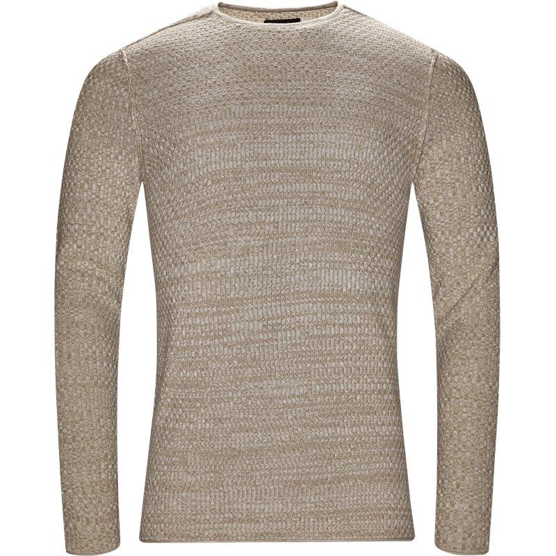 gabba Gabba robin o-neck knit sand fra quint.dk