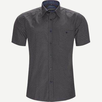 Roger Kortærmet Skjorte Regular | Roger Kortærmet Skjorte | Blå