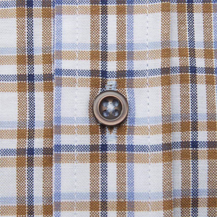 MARTA - Marta Kortærmet Skjorte - Skjorter - Regular - BROWN - 4