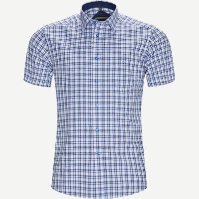 Marta Kortærmet Skjorte Regular | Marta Kortærmet Skjorte | Blå