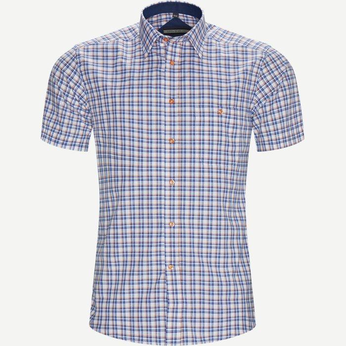 Marta Kortærmet Skjorte - Kortærmede skjorter - Regular - Orange