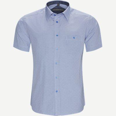 Nerea Kortærmet Skjorte Regular | Nerea Kortærmet Skjorte | Blå