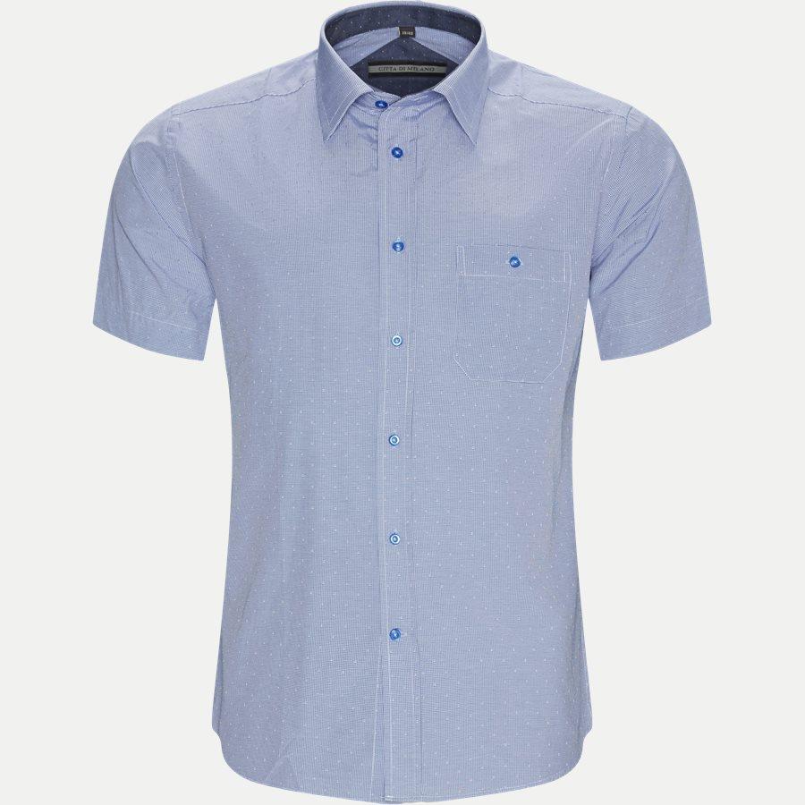 NEREA - Nerea Kortærmet Skjorte - Skjorter - Regular - NAVY - 1