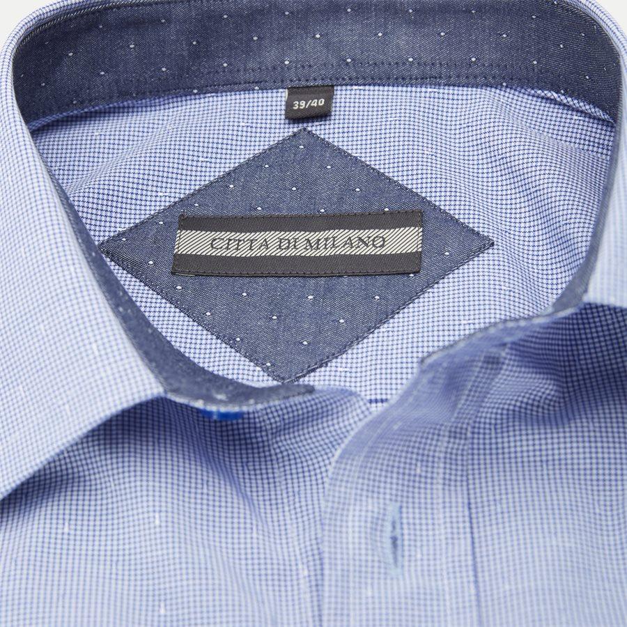 NEREA - Nerea Kortærmet Skjorte - Skjorter - Regular - NAVY - 3