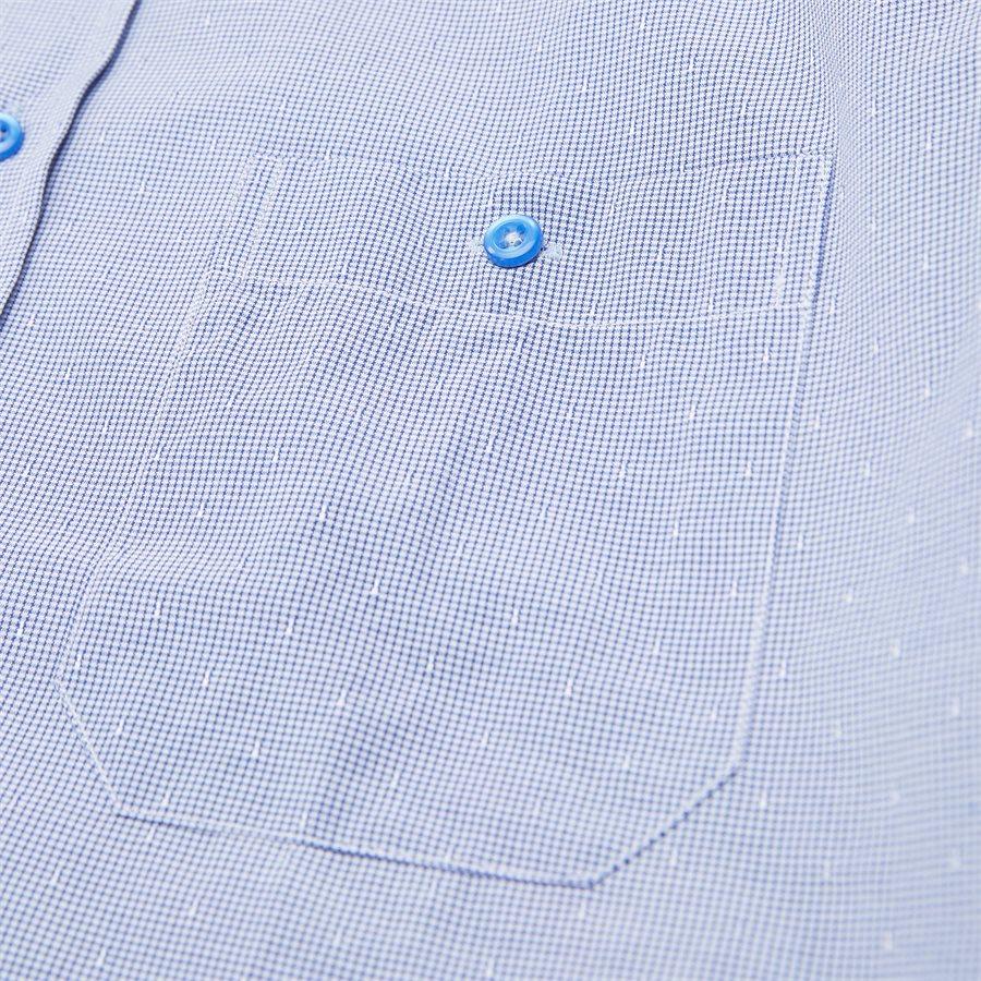 NEREA - Nerea Kortærmet Skjorte - Skjorter - Regular - NAVY - 4
