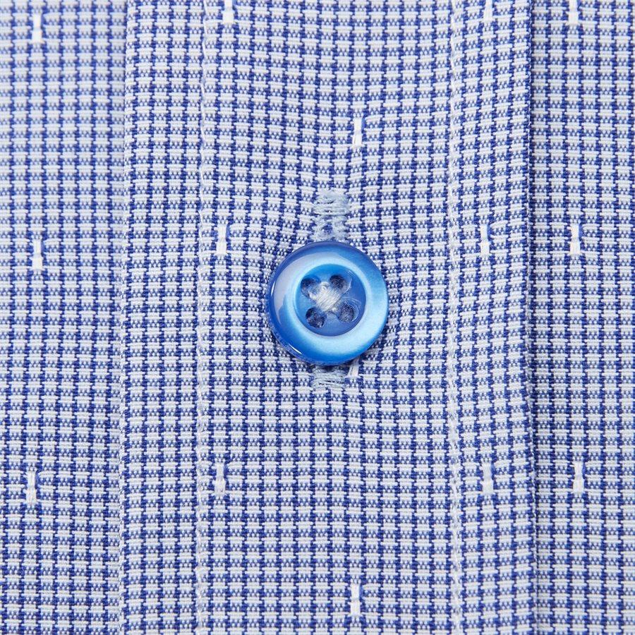 NEREA - Nerea Kortærmet Skjorte - Skjorter - Regular - NAVY - 5