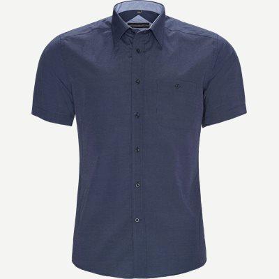 Javier Kortærmet Skjorte Regular | Javier Kortærmet Skjorte | Blå